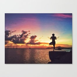 Sunset in Vieques Canvas Print
