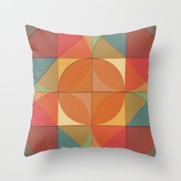 Basic shapes Throw Pillow