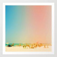 Life in the Sun Art Print