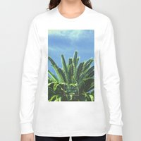 palm tree Long Sleeve T-shirts featuring Palm TreE  by ''CVogiatzi.