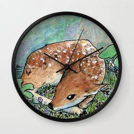 Waiting for Mama Wall Clock