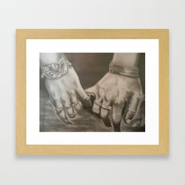 U -n- Me Framed Art Print