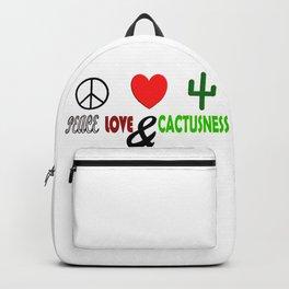Peace, Love & Cactusness Backpack