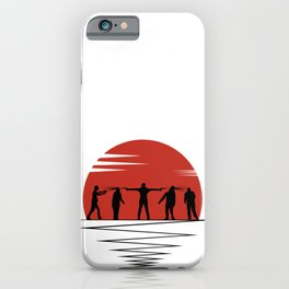 Zombie Controol (Moon headshot) iPhone Case