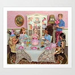60th Barbie's birthday Art Print