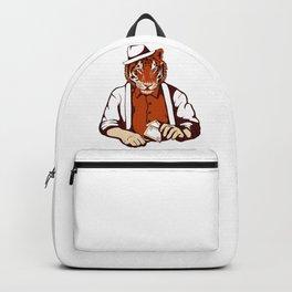 Tiger Poker Face Backpack