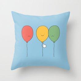 Let it go! Throw Pillow
