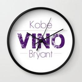 VINO (Purple) Wall Clock