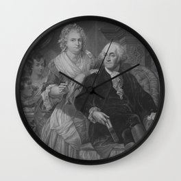 President Washington At Home Wall Clock