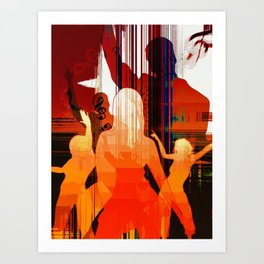 Music 4 Art Print