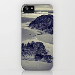 Rocks at Three Cliffs Bay iPhone Case