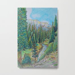 Rocky Mountain Summers Metal Print