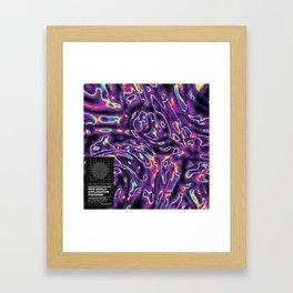 NEW WORLD EXPLORATION PROGRAM - Mountain Chain Framed Art Print