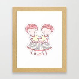 The Pact Framed Art Print