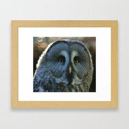 YES, it is me! Framed Art Print