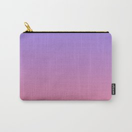 Color gradient 3. Pink and blue.abstraction,abstract,minimalism,plain,ombré Carry-All Pouch