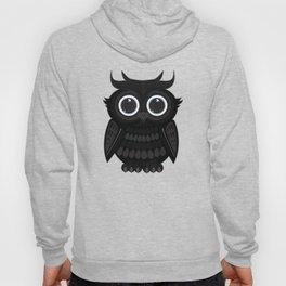 Black Owl Hoody