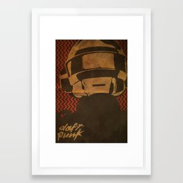 Daft Punk Thomas Bangalter I Framed Art Print