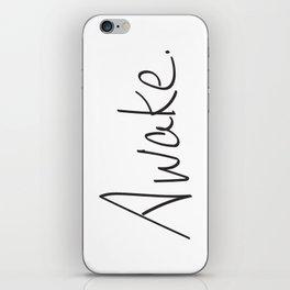 Awake. iPhone Skin