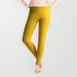 Wizzles 2020 Hottest Designer Shades Collection - Mustard Yellow Leggings
