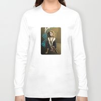 bad wolf Long Sleeve T-shirts featuring Bad Wolf by mikaelak