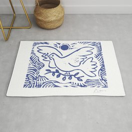 Pablo Picasso Dove Of Peace Lithgraph Limited Edition Artwork Shirt, Reproduction Rug