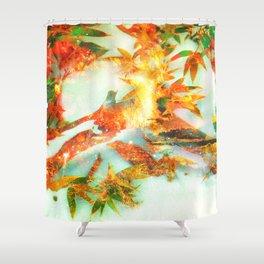 SHINING IV Shower Curtain