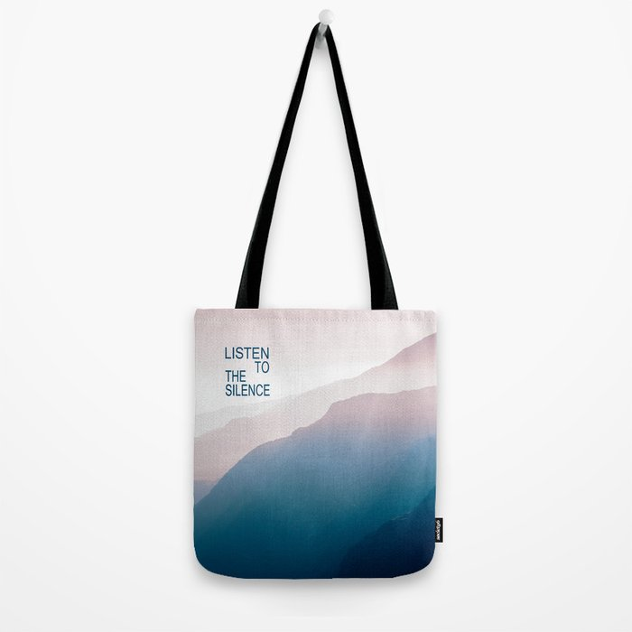 Listen to the Silence #2 Tote Bag