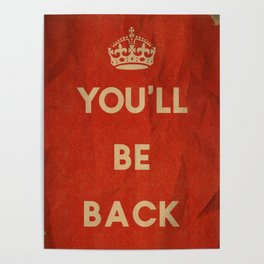 You'll Be Back Poster