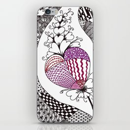 Heartflower iPhone Skin