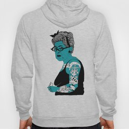 Tattoo Lady colour by Emilythepemily Hoody