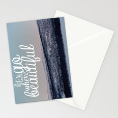 Let's Go Somewhere Beautiful Stationery Cards