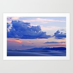 White Sands XX Art Print