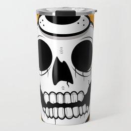 Alfredo Monster Skull Bear Hat  Travel Mug
