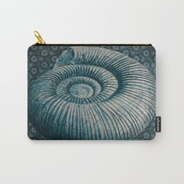 Ammonite on pattern 2201 Carry-All Pouch