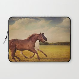 Sissy And Indie With Clouds Laptop Sleeve