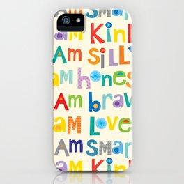 I am smart iPhone Case