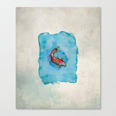 Small Fish. Small Pond. Canvas Print