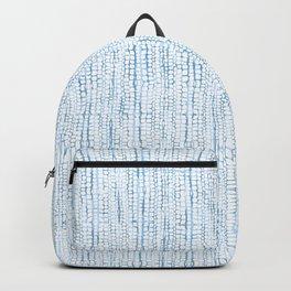Blue Snake Texture Backpack