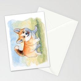 Funny Welsh Corgi 859 Stationery Cards