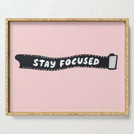 Stay Focused 35mm Camera Film Serving Tray