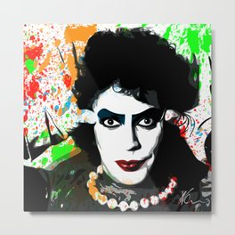 The Rocky Horror Picture Show | Pop Art Metal Print