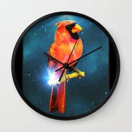 Cardinal Spirit Wall Clock