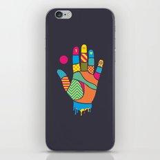 Heavy Handed iPhone & iPod Skin