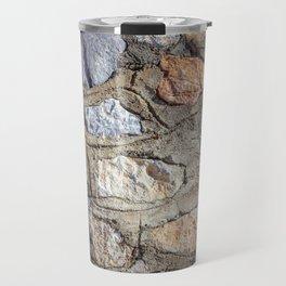 Cobblestones Cladding Wall Travel Mug
