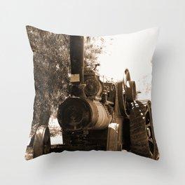 Lincoln - Ruston Proctor Co Ltd Sepia Throw Pillow
