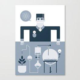 Artificial Science Canvas Print