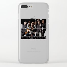 tom petty heartbreakers 2019 hajarlah Clear iPhone Case