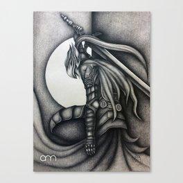 Sir Artorias - Dark Souls Canvas Print