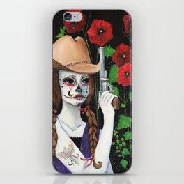 """""""It's A Cowgirl Thing"""" iPhone Skin"""